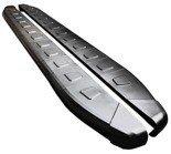 01655984 Stopnie boczne, czarne - Volkwagen Tiguan (długość: 171 cm)
