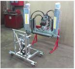 02938347 Belka herbicydowa BHh - sterowanie hydrauliczne, dwustronna, ocynkowana (liczba dysz: 2, średnia szerokość robocza: 1,6m)
