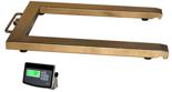 04048856 Waga paletowa ze stali szlachetnej z legalizacją (nośność: 300 kg, podziałka: 100 g, wymiary: 840x1260 mm)