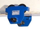 4498689 Ręczny wózek rolkowy podkołnierzowy podwieszany Tractel® Corso RC (szerokość kołnierza od 220 do 300mm, udźwig: 2T)