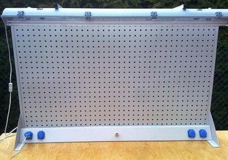 77157004 Nadbudowa wysoka z oświetleniem i listwą elektryczną (wymiary: 980x1500 mm)