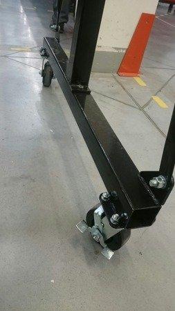 322+55970065 Suwnica bramowa, mobilny dźwig portalowy + wyciągarka linowa elektryczna z wózkiem (udźwig: 500/1000 kg)