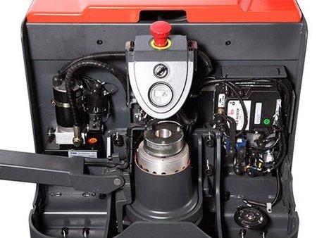 DOSTAWA GRATIS! 00568970 Wózek paletowy elektryczny (udźwig: 2000 kg, długość wideł: 1150mm, wysokość podnoszenia: 210 mm)