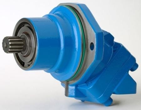 DOSTAWA GRATIS! 01538916 Silnik hydrauliczny wielotłoczkowy osiowy Hydro Leduc (objętość robocza: 108,3 cm³, maks prędkość ciągła: 4000min-1 /obr/min)