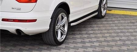 DOSTAWA GRATIS! 01655675 Stopnie boczne - Audi Q7 2006-2014 (długość: 205-210 cm)