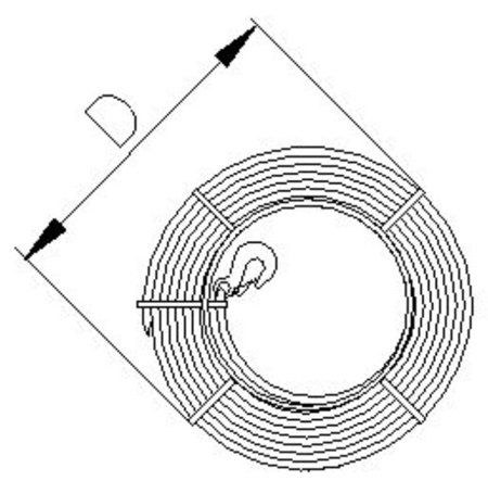 DOSTAWA GRATIS! 2203115 Wciągnik linowy, rukcug 30.11/3.2t (długość liny: 30m, udźwig: 3,2 T)