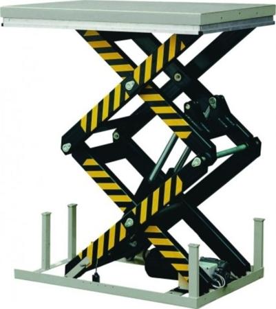 DOSTAWA GRATIS! 3109777 Stacjonarny stół podnośny (udźwig: 2000 kg, wymiary platformy: 1300x850 mm, wysokość podnoszenia min/max: 360-1780 mm)