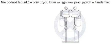 DOSTAWA GRATIS! 33948812 Wciągnik łańcuchowy elektryczny ELL 0,5 (udźwig: 0,5 T, wysokość podnoszenia: 3 m)