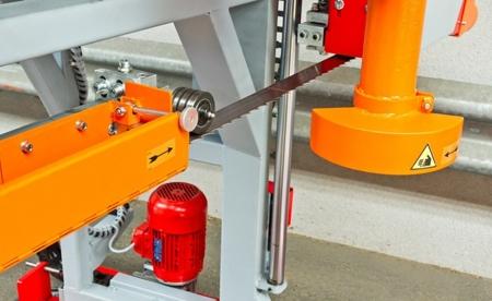 DOSTAWA GRATIS! 44349901 Pozioma piła taśmowa Holzmann (max średnica obrabianego elementu: 850 mm, moc: 9 /12,6 kW)