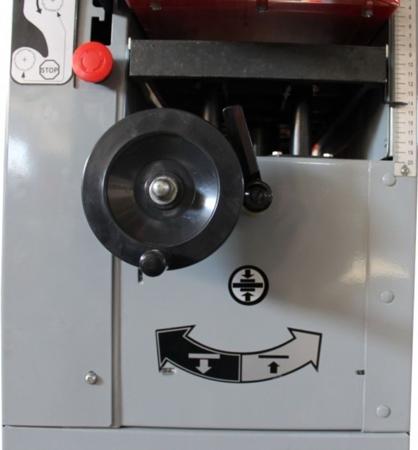 DOSTAWA GRATIS! 44349957 Strugarko-grubościówka Holzmann 400V (szerokość heblowania: 250mm, wymiary stołu: 1090x855 mm)