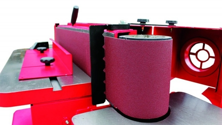 DOSTAWA GRATIS! 44349992 Szlifierka krawędziowa z oscylacją Holzmann 400V (wymiary taśmy: 2260x150 mm, wymiary blatu: 800x180 mm)