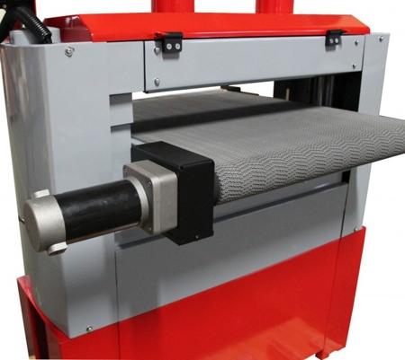 DOSTAWA GRATIS! 44350039 Szlifierka szerokotaśmowa dwu walcowa Holzmann 230V (max szer. szlifowania: 640 mm)