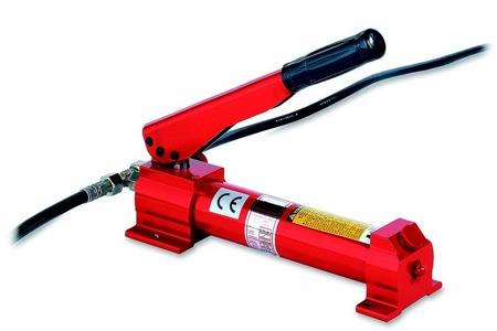 DOSTAWA GRATIS! 49972688 Pompa hydrauliczna z napędem ręcznym (maks. siła nacisku: 400N, ciśnienie robocze: 520 bar)