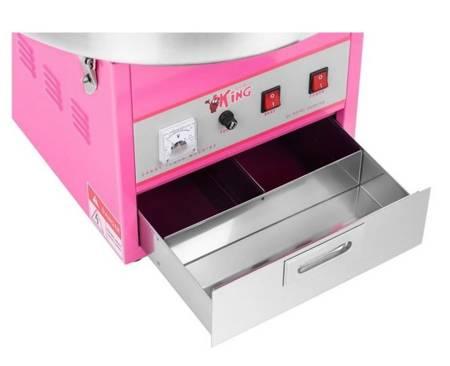 Maszyna do waty cukrowej bez pokrywy Royal Catering (moc: 1,2kW, rozmiar garnka: 52cm) 45643438