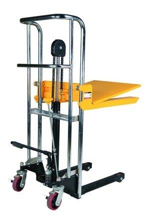 SWARK Wózek paletowy/platformowy podnośnikowy GermanTech (max wysokość: 85-850 mm, udźwig: 400 kg, długość wideł: 650 mm) 99724816