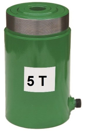 Siłownik przelotowy (wysokość podnoszenia min/max: 77-100mm, udźwig: 5T) 62754003