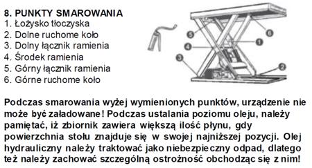 Stół podnośny elektryczny  (wymiary platformy: 1000x1600 mm, udźwig: 2000 kg, wysokość podnoszenia min/max: 230-1000 mm) 3109774