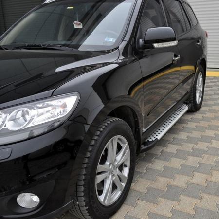 Stopnie boczne - Hyundai SantaFe 2006-2012 (długość: 182 cm) 01656011