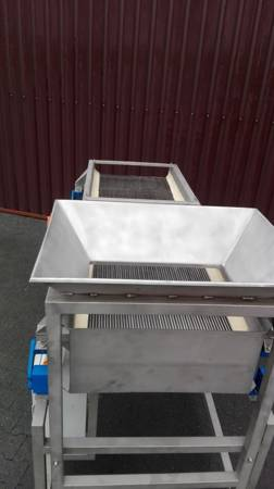 Ternet Przesiewacz ze stali nierdzewnej (powierzchnia robocza sita: 50 cm x 100 cm) 09978001