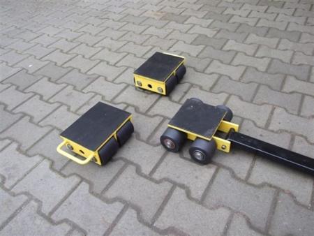 Zestaw wózków, rolki: 12x kompozyt (nośność: 20 T) 12235619